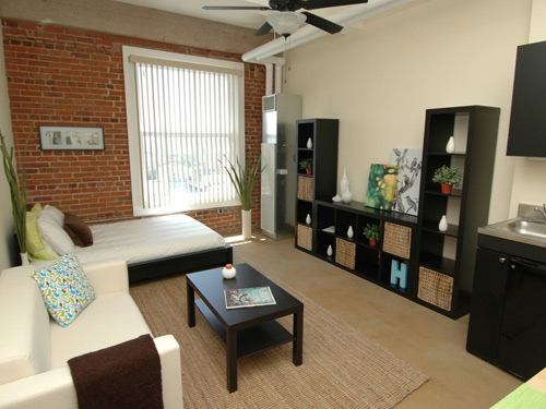 Downtown LA micro-lofts - 200 to 325 square feet